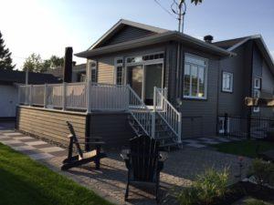 Rénovation maison terrasse arrière