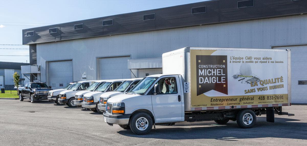 Flotte Construction Michel Daigle