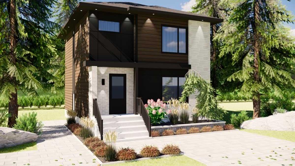 DELPHINE modèle de maison unifamiliale